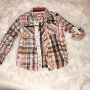 Other - Guess Youth Boys 5/6 button down